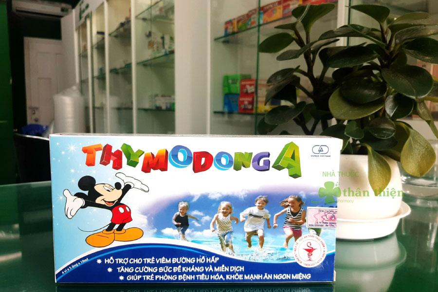 Hình chụp Thymo DongA tại Nhà Thuốc Thân Thiện (mẫu cũ)