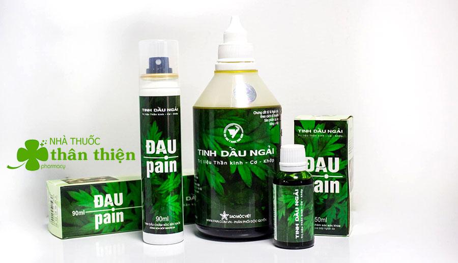 Bộ sản phẩm Tinh Dầu Ngải Đau Pain