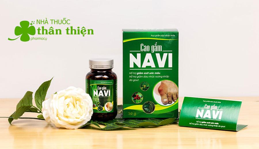 Hình chụp sản phẩm Cao Gắm Navi tại nhà thuốc!