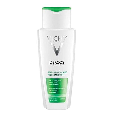 Dầu Gội Đặc Trị Gàu Dành Cho Tóc Khô Vichy Dercos Anti-Pelliculaire Anti-Dandruff Dry Hair