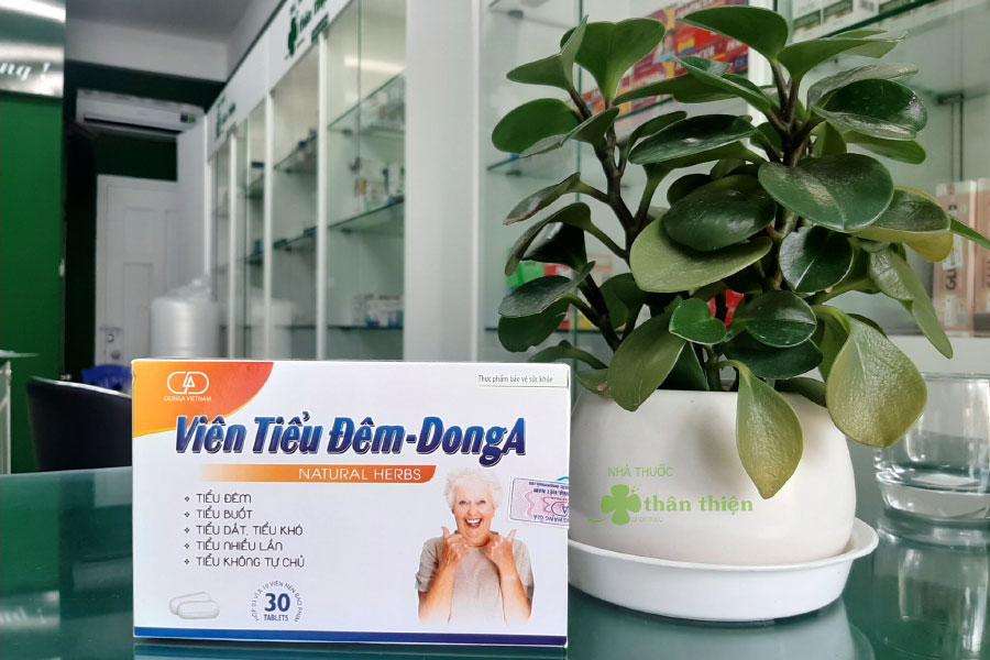 Hình chụp Viên Tiểu Đêm DongA tại Nhà Thuốc Thân Thiện