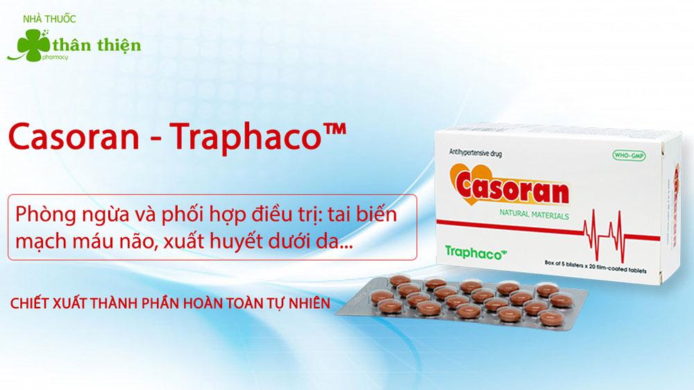 Casoran có bán chính hãng tại Nhà Thuốc Thân Thiện