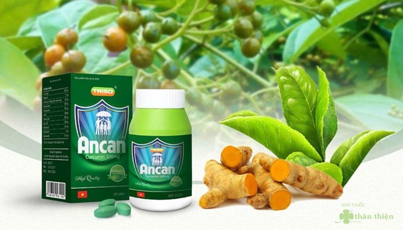 Ancan, hỗ trợ giảm tác hại do hóa trị, xạ trị