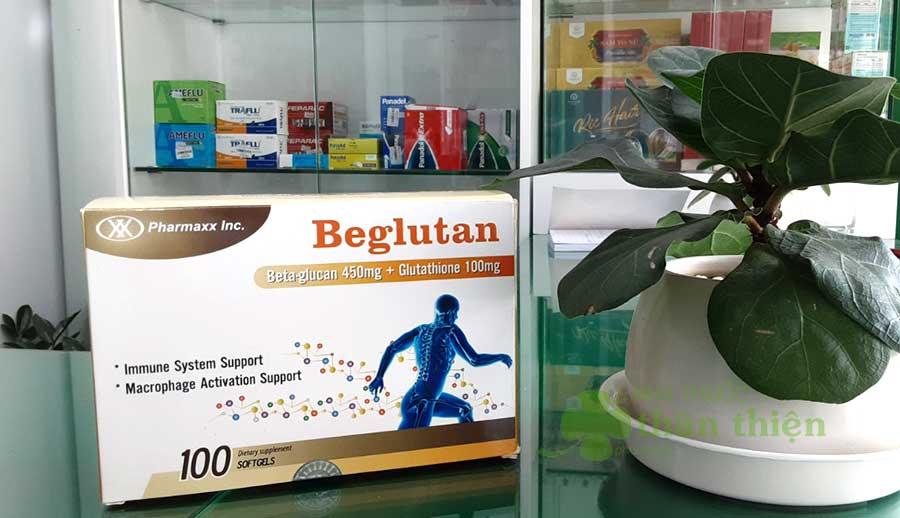 Hình chụp sản phẩm Beglutan!