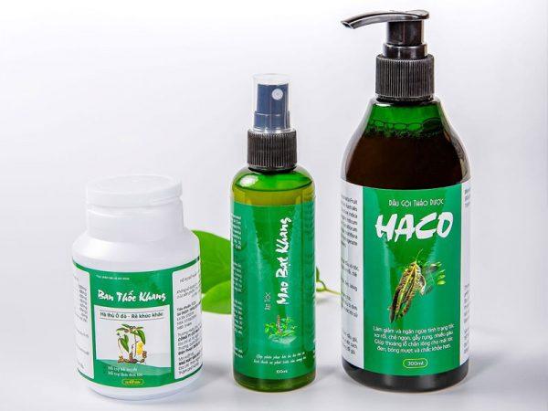 Hình ảnh: Bộ 3 sản phẩm tóc Haco