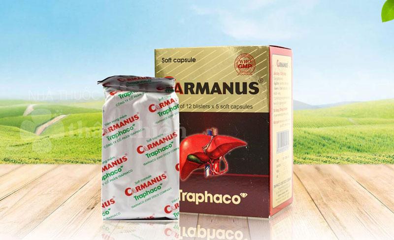 Carmanus, bảo vệ gan và hỗ trợ ổn định màng tế bào gan