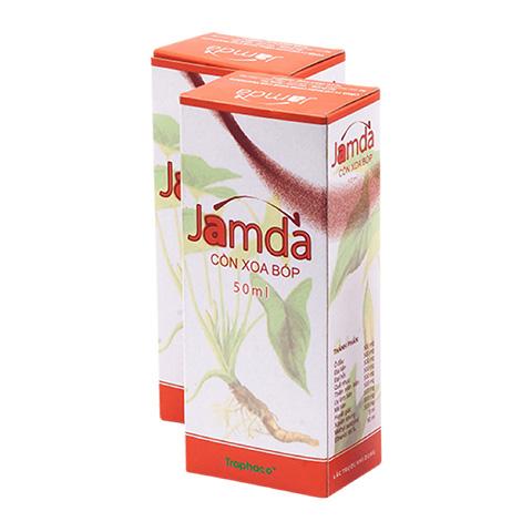 Cồn xoa bóp Jamda