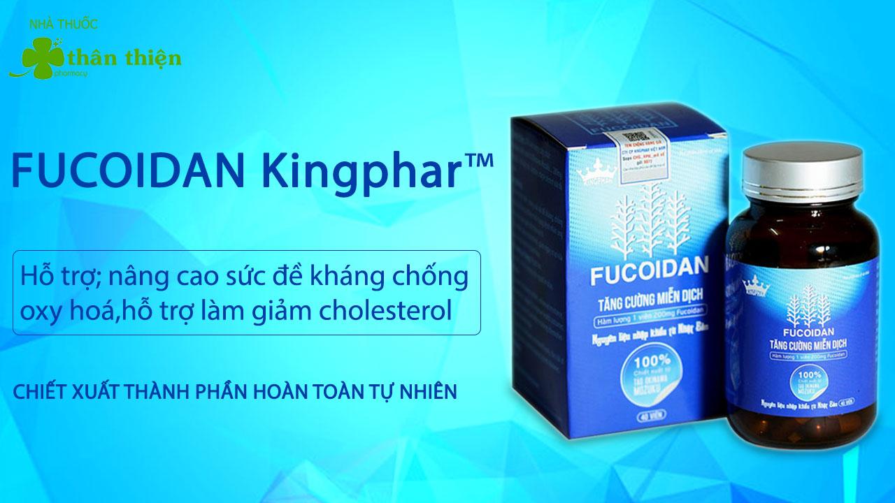 Sản phẩm Fucoidan Kingphar có bán chính hãng tại Nhà Thuốc Thân Thiện