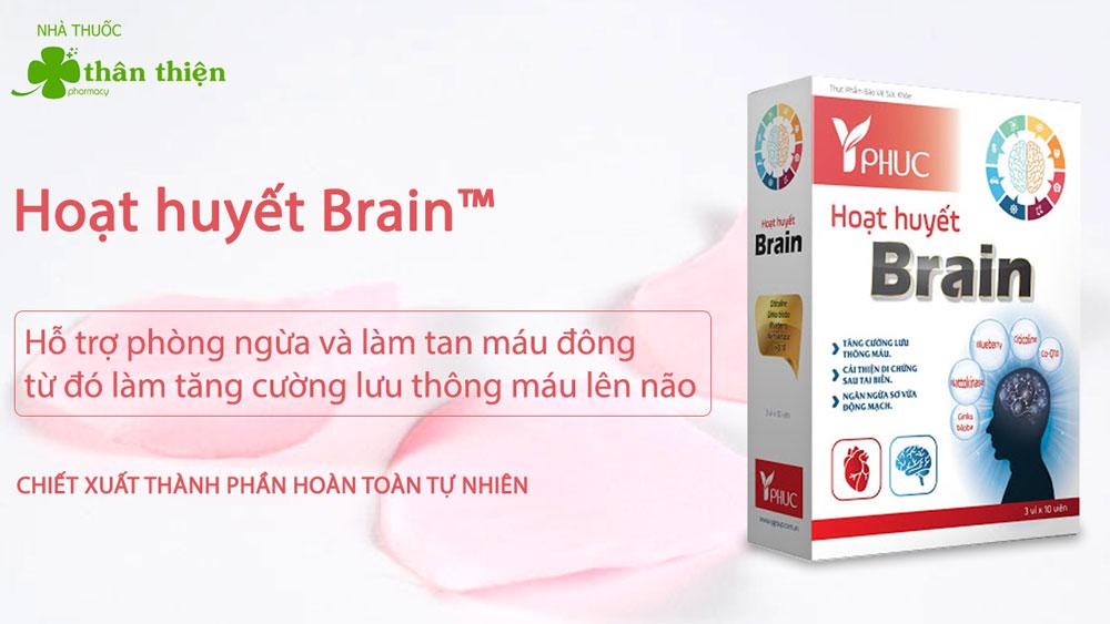 Sản phẩm Hoạt Huyết Brain có bán chính hãng tại Nhà Thuốc Thân Thiện