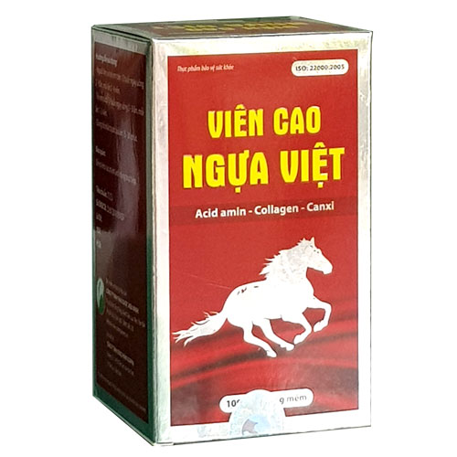 Hộp Viên Cao Ngựa Việt