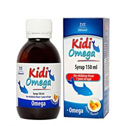 Kidi Omega Syrup 150Ml For Children