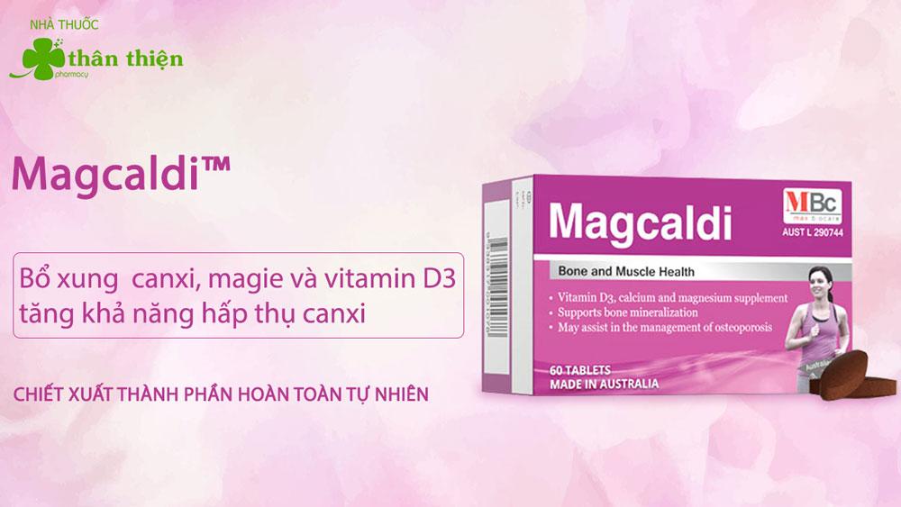 Sản phẩm Magcaldi bán chính hãng tại các Nhà Thuốc trên toàn quốc
