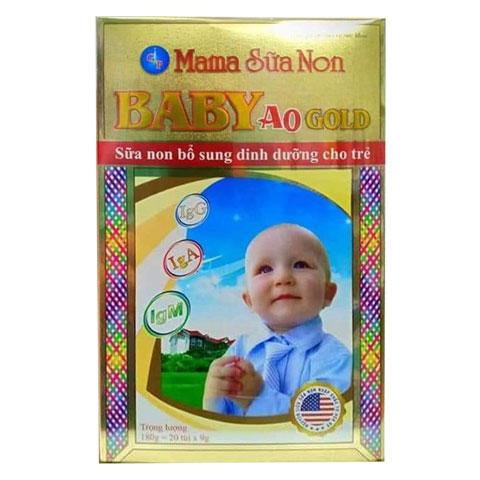 Hộp Mama Sữa Non Baby A0 Gold