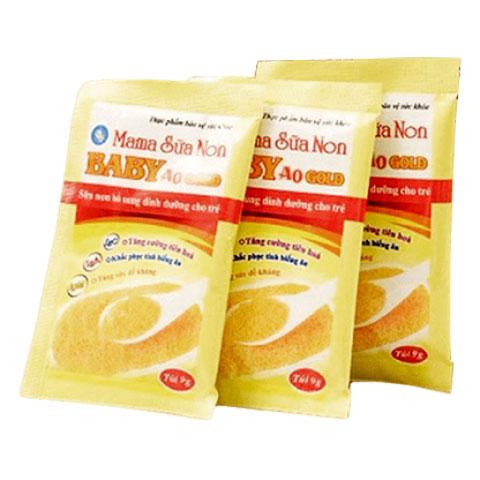 Ba gói Mama Sữa Non Baby A0 Gold
