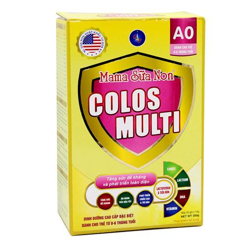 Hộp sữa Mama Sữa Non Colos Multi A0