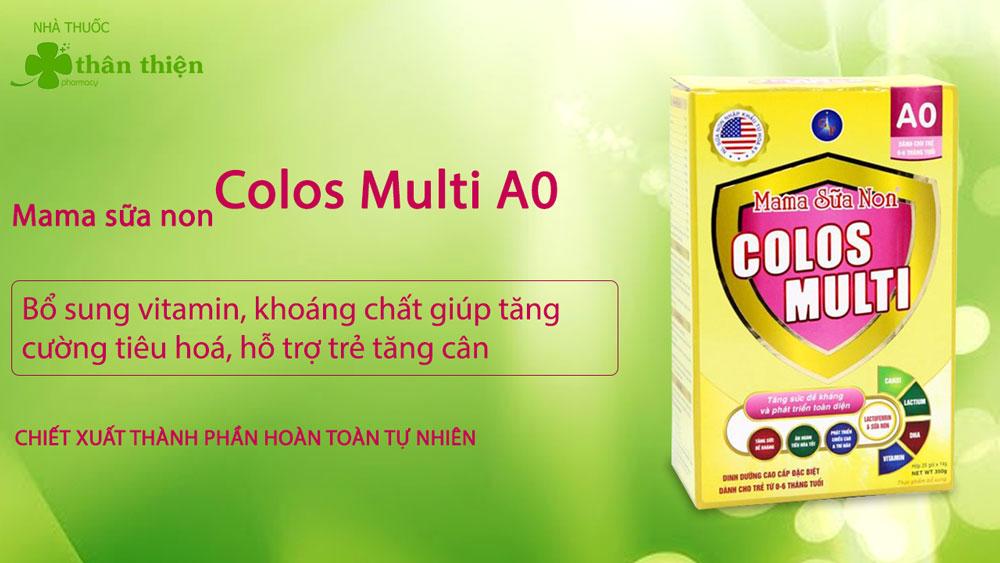 Mama Sữa Non Colos Multi A0 có bán chính hãng tại Nhà Thuốc Thân Thiện