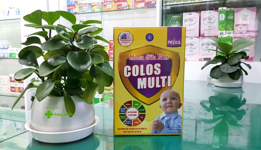 Hình chụp sản phẩm Mama Sữa Non Colos Multi Pedia tại Nhà Thuốc Thân Thiện