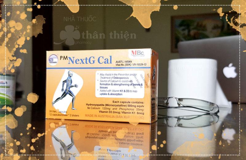 PM NextG Cal, hỗ trợ phòng ngừa loãng xương và hỗ trợ tăng mật độ xương