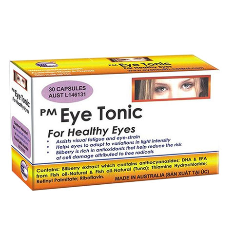 Pm Eye Tonic For Healthy Eyes