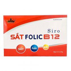Siro Sắt Folic B12