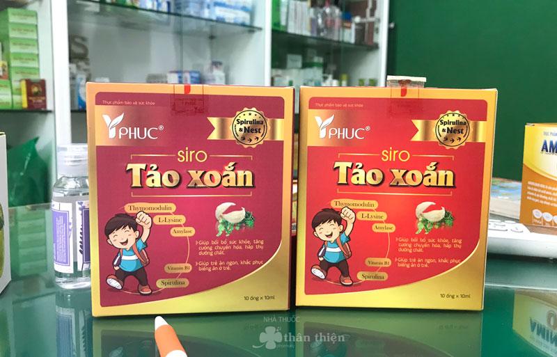 Siro Tảo Xoắn Yphuc, hỗ trợ kích thích hệ tiêu hóa ở trẻ nhỏ