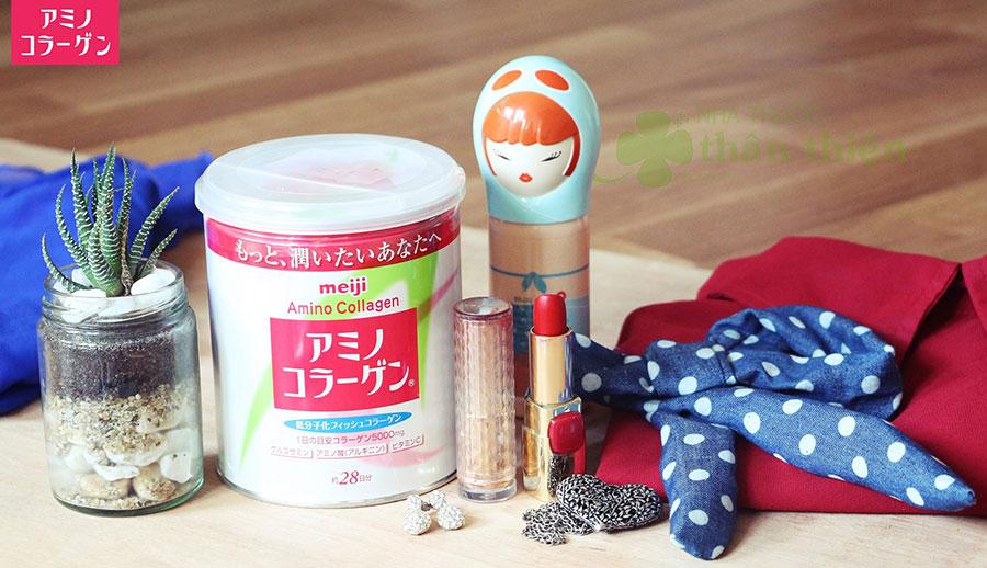 Hình chụp sản phẩm Meiji Amino Collagen!