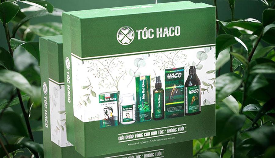 Hộp bộ sản phẩm Tóc Haco
