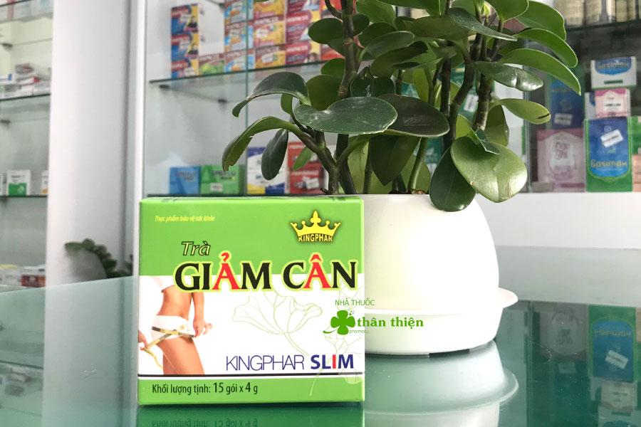 Trà Giảm Cân Kingphar Slim, hỗ trợ cơ thể giảm tổng hợp chất béo, acid béo