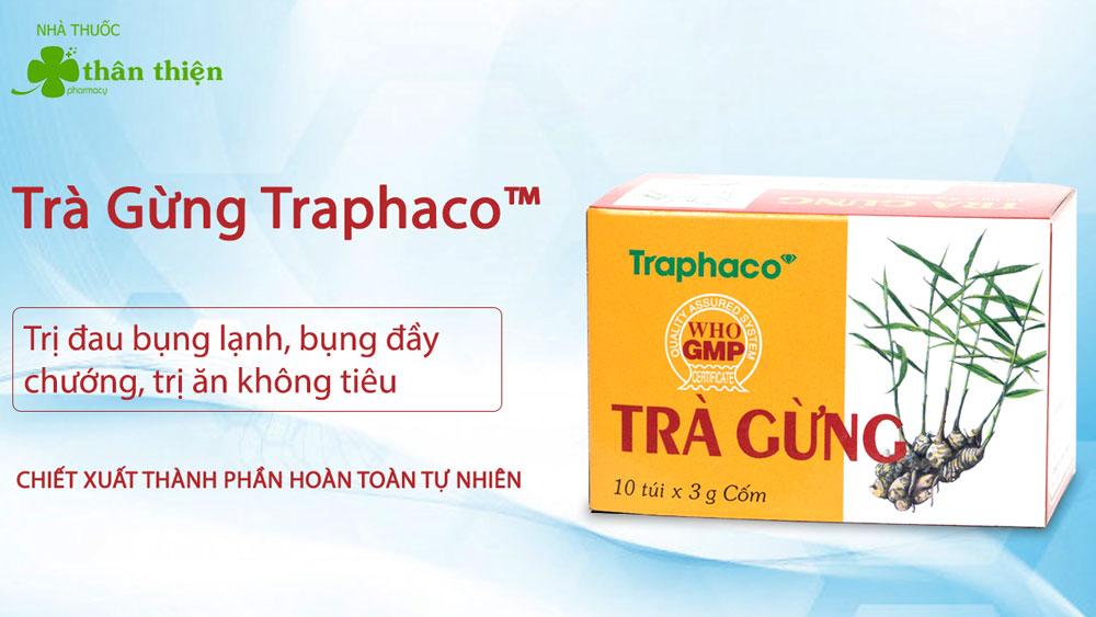 Trà Gừng Traphaco có bán chính hãng tại Nhà Thuốc Thân Thiện