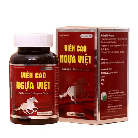 Viên Cao Ngựa Việt