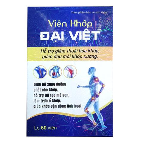 Vỏ hộp Viên khớp Đại Việt