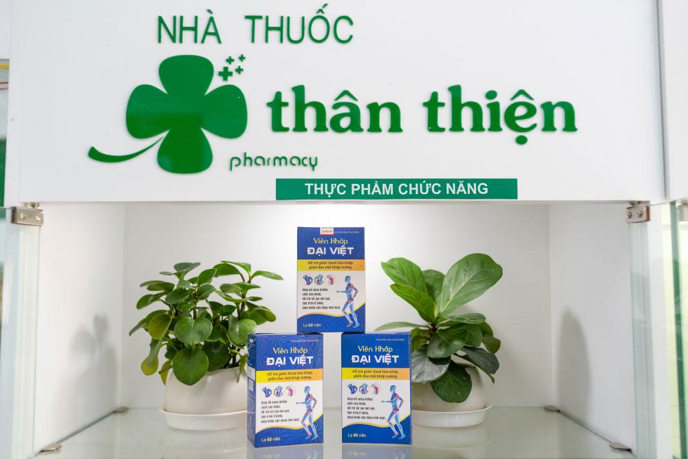 Hình chụp: Sản phẩm Viên Khớp Đại Việt trực tiếp từ Nhà Thuốc Thân Thiện