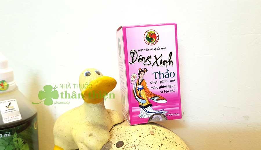 Hình chụp Dáng Xinh Thảo tại nhà thuốc!