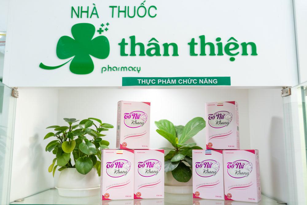 Hình chụp Tố Nữ Khang có bán chính hãng tại Nhà Thuốc Thân Thiện