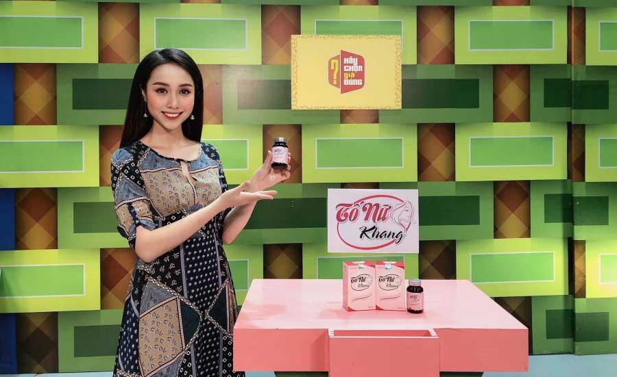 Sản phẩm Tố Nữ Khang tham gia chương trình Hãy chọn giá đúng!