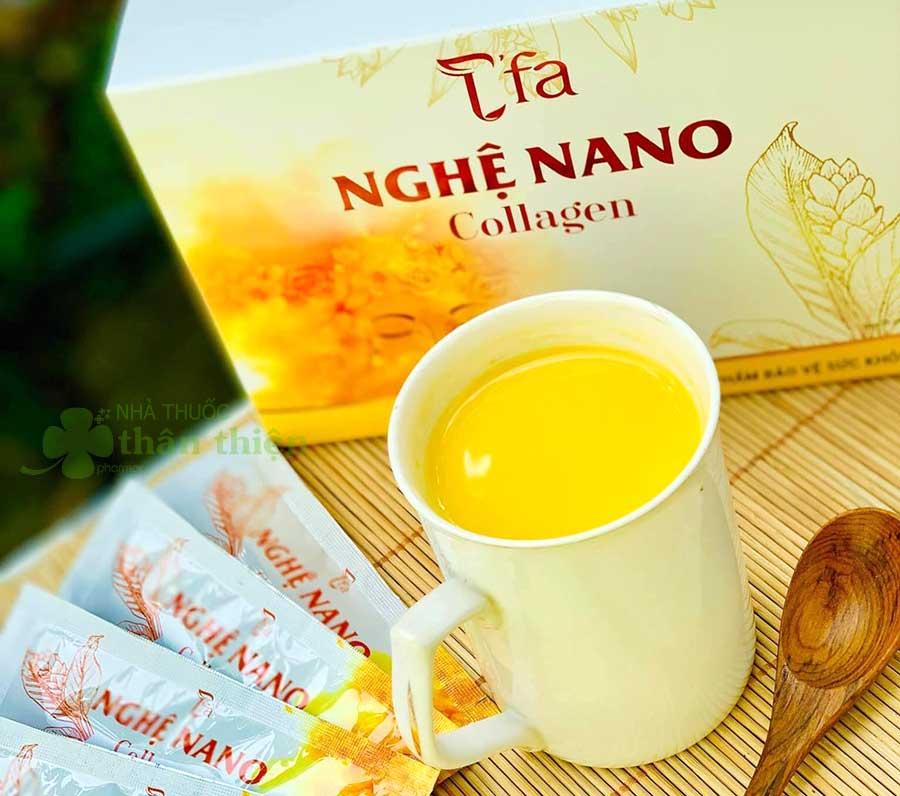 Hình chụp Nghệ nano collagen T'FA!