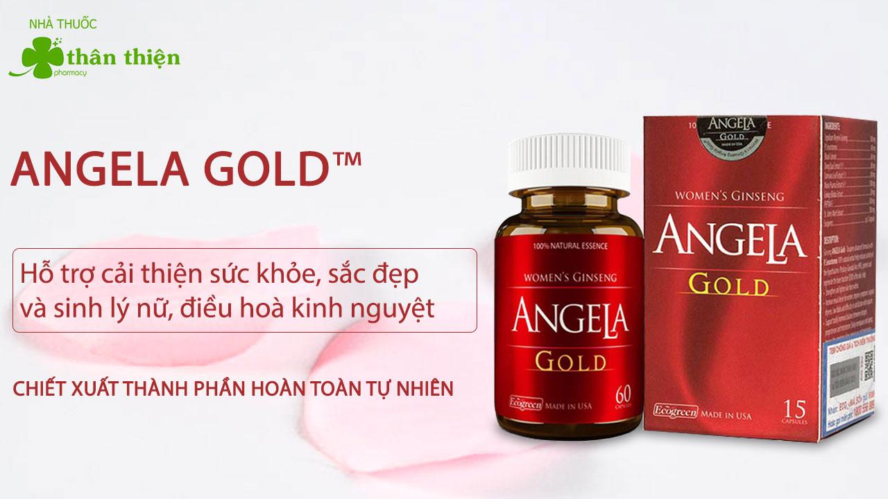 Sản phẩm Sâm Angela Gold bán chính hãng tại các nhà thuốc trên toàn quốc