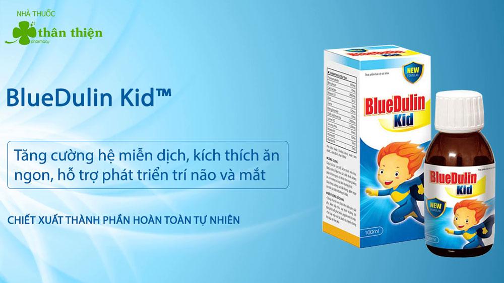 Sản phẩm BlueDulin Kid có bán chính hãng tại Nhà Thuốc Thân Thiện