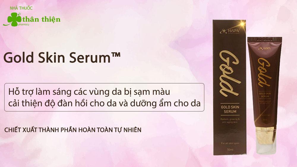 Sản phẩm Gold Skin Serum có bán tại một số nhà thuốc trên toàn quốc
