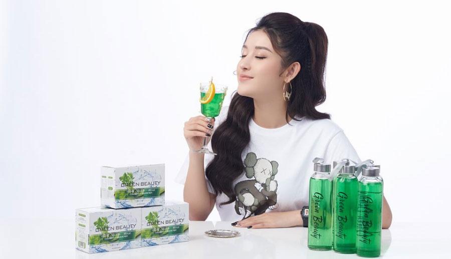 Á Hậu Huyền My tin dùng sản phẩm Green Beauty - Nước ép cần tây bảo vệ vóc dạng!