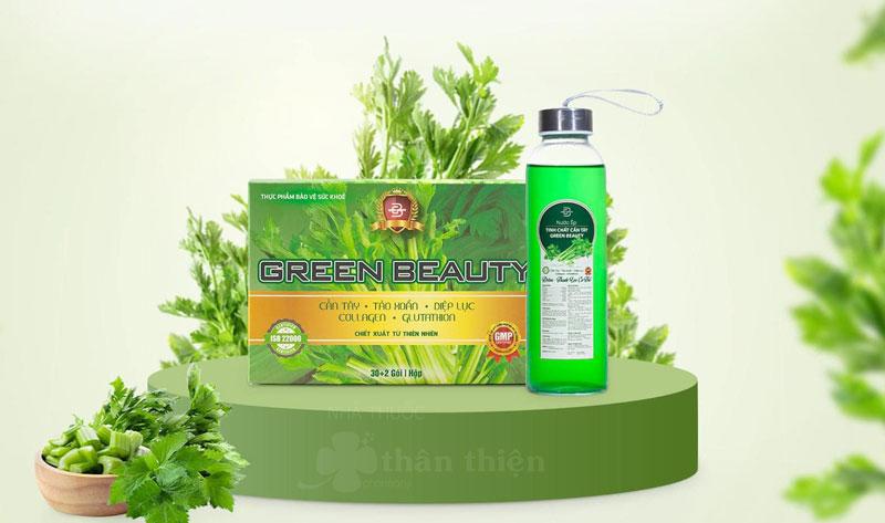 Green Beauty - Nước ép cần tây có 2 vị là Vị lá nếp và Vị cần tây