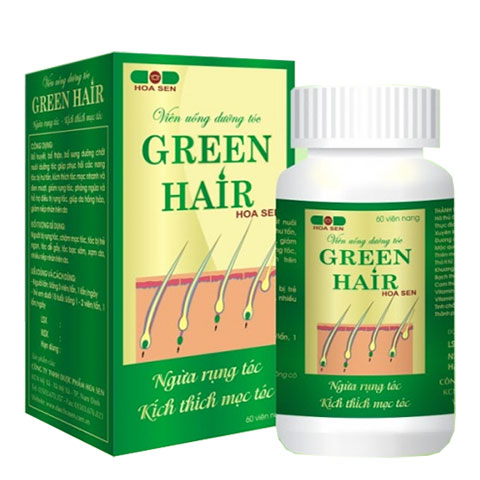 Green Hair Hoa Sen