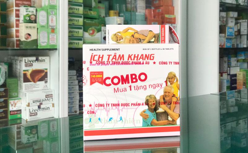 Hình ảnh Combo Ích Tâm Khang mua 01 tặng 01 chụp tại Nhà Thuốc Thân Thiện