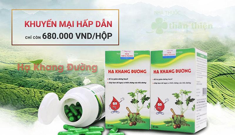 Hạ Khang Đường, hỗ trợ giúp hạn chế nguy cơ biến chứng của tiểu đường