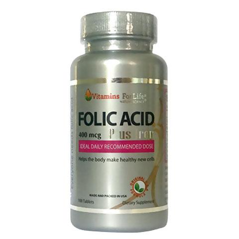 Folic Acid Plus Iron