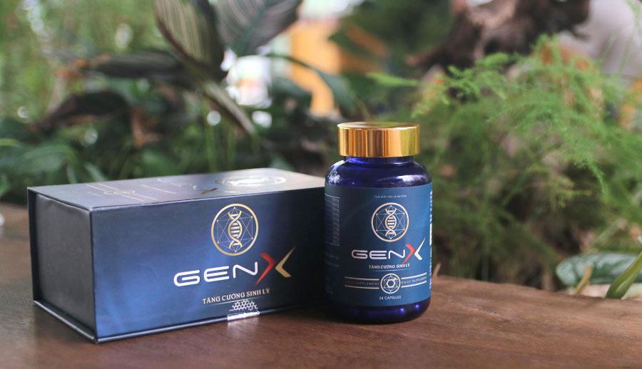 Gen X Gold, hỗ trợ giúp bổ thận, tráng dương