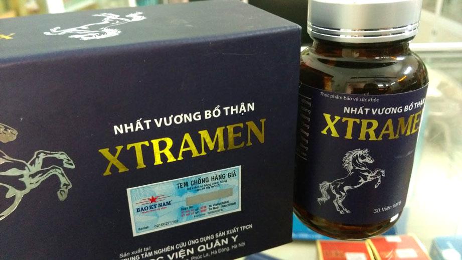 Nhất vương bổ thận XTramen, hỗ trợ làm giảm quá trình mãn dục ở nam giới