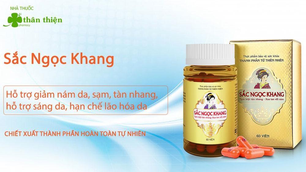 Sắc Ngọc Khang được bán tại nhà thuốc, đảm bảo nguồn gốc rõ ràng