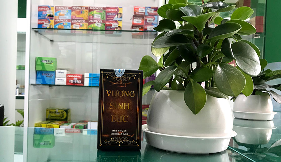 Hình chụp sản phẩm Vương Sinh Lực tại Nhà Thuốc Thân Thiện