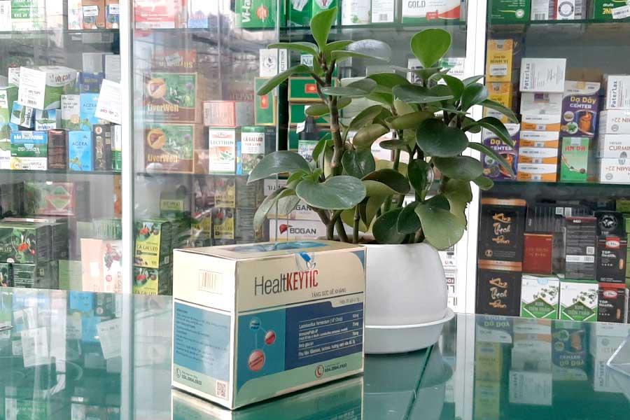 HealtKeytic, hỗ trợ tăng cường đề khàng, tăng miễn dịch cơ thể